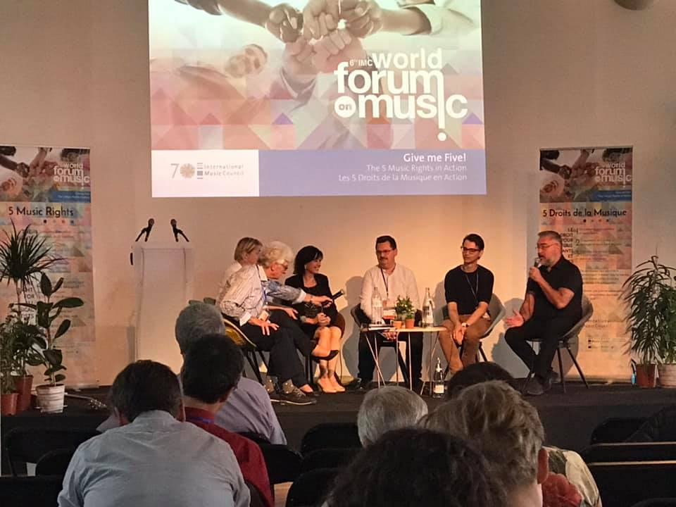 Fin du 6ème Forum international de la musique