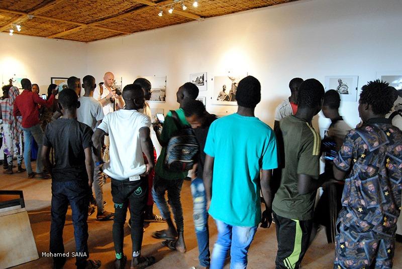 Vernissage des expositions OFF du collectif Foto ton de Bamako et de Ségou