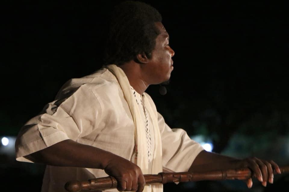 Salif Berthé et la Troupe Djonkala Bla ont animé le FERE KÈNÈ avec des CONTES