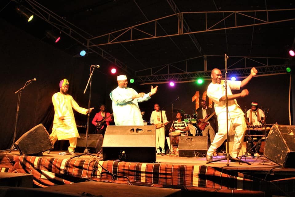 célébration des 10 ans du Centre Culturel Kôrè, Abdoulaye DIABATÉ, Salomé DEMBÉLÉ, Gaousso DIAO et Adam OUANE