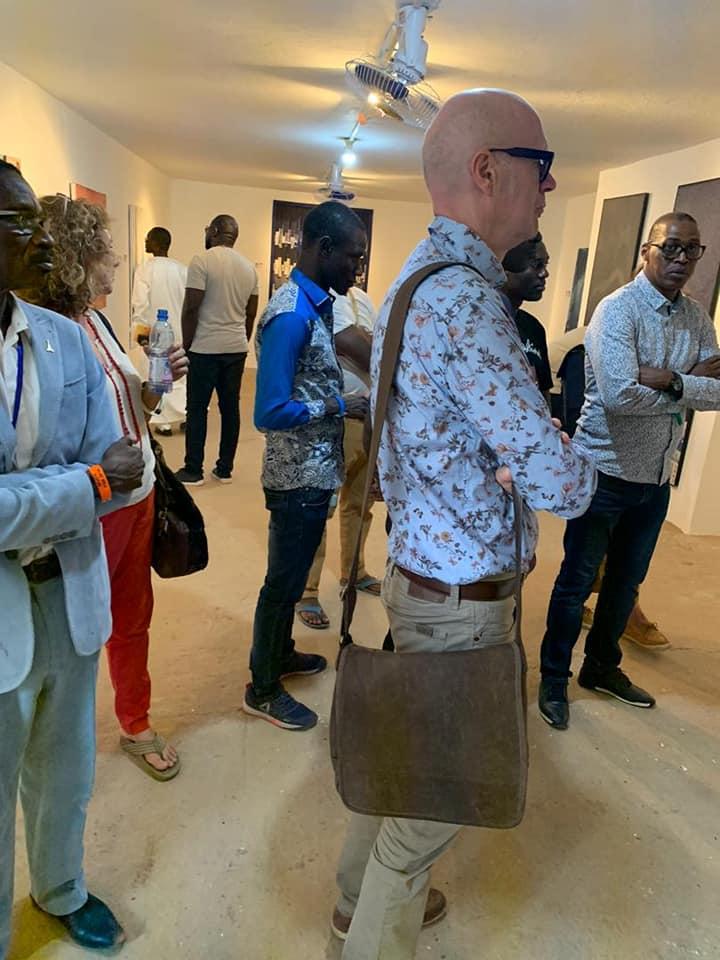 Vernissage exposition préparée par la Fondation sur le Niger en off de Ségou'Art - Festival sur le Niger 2020, à l