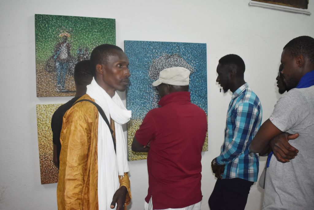 Vernissage des expositions OFF du collectif TIM'ARTS de Bamako