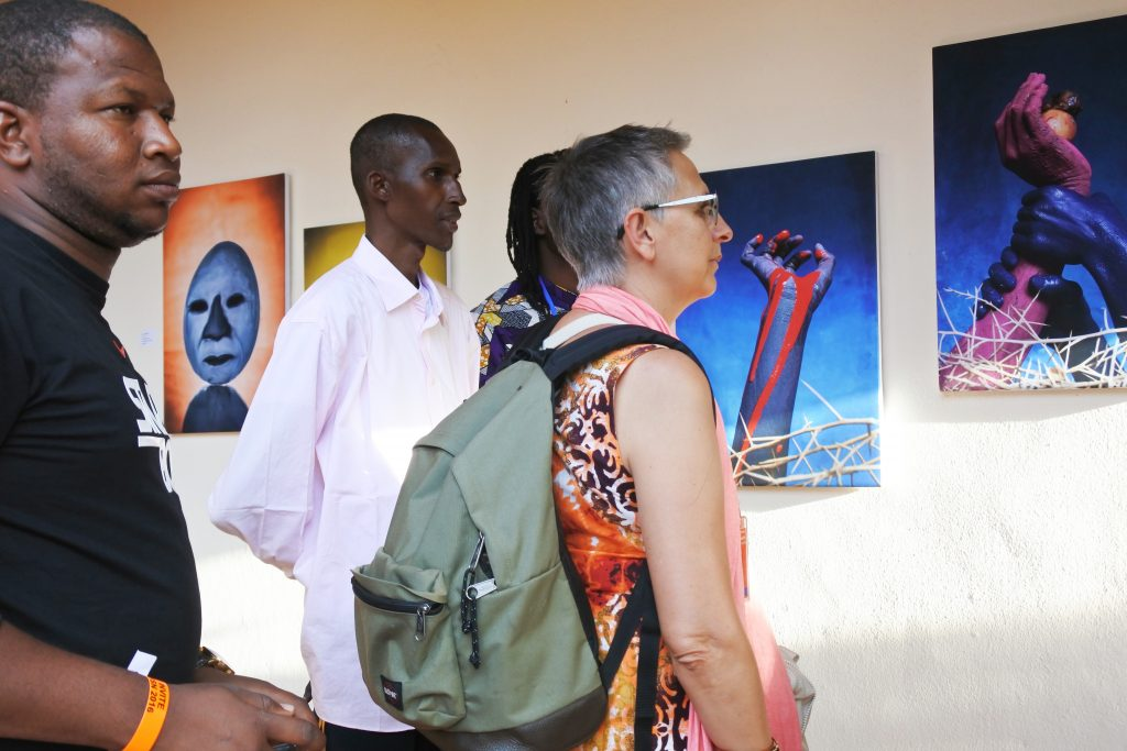 Vernissage des expositions OFF du collectif Sanou'Art de Bamako