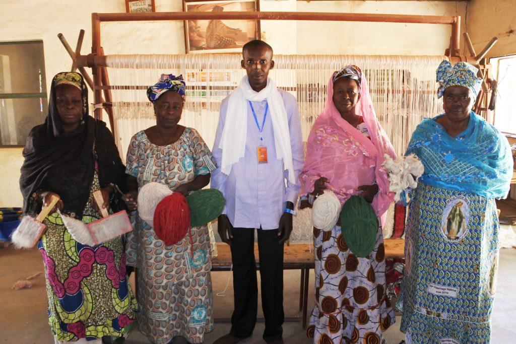 Vernissage des expositions OFF de l'association des femmes du tapisserie Niéleni de Ségou