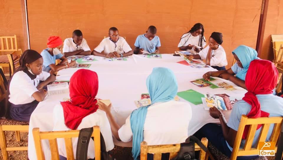 Atelier d'initiation en conte avec les scolaires à la Médiathèque Kôrè